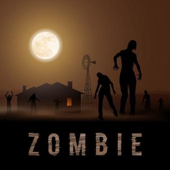 Poste zombie