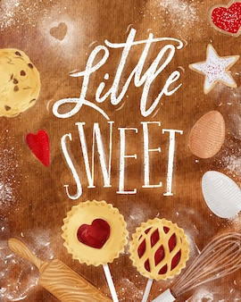 Poster petit bonbon