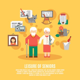 Poster plat senior