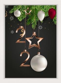 Posters joyeux noël et bonne année