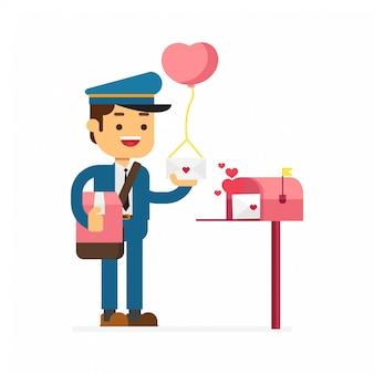 Postier valentine