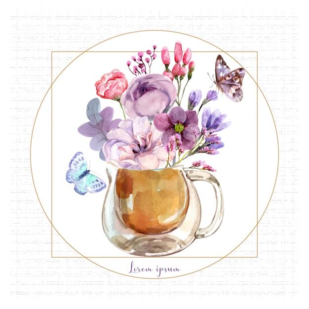 Pot pot à fleurs.