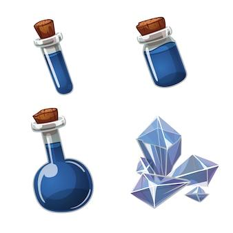Potion et cristal