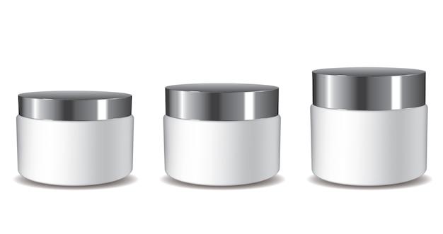 Pots de crème 3d