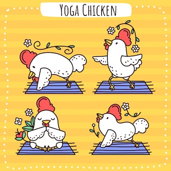 Poulet yoga