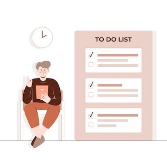 Pour faire l'illustration du concept de liste