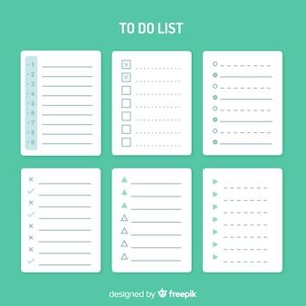 Pour faire la liste