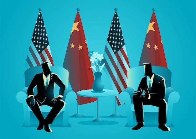Pourparlers bilatéraux