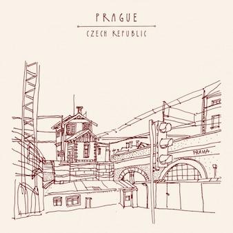 Prague conception de fond