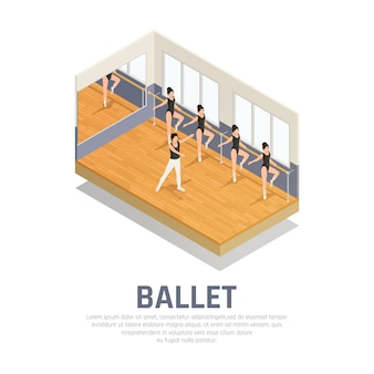 Pratique du ballet de théâtre
