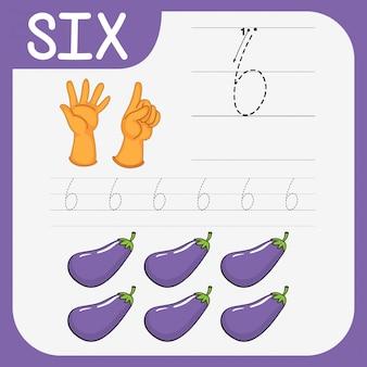 Pratique d'écriture mathématique numéro six