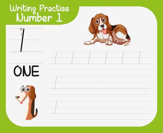 Pratique d'écriture mathématique numéro un