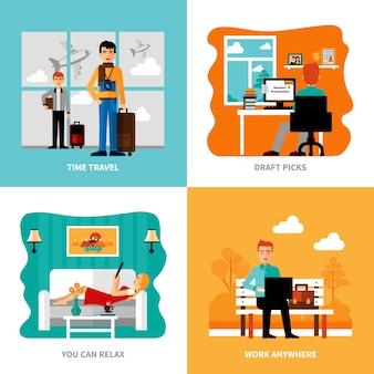 Préférences de freelance set