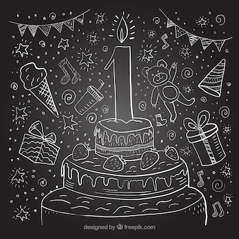 Premier tableau d'anniversaire