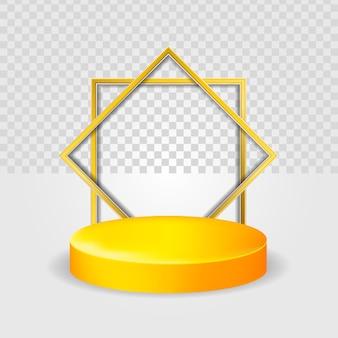 Premium podium islamique 3d