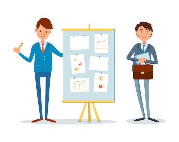 Présentation financial analytics report, business