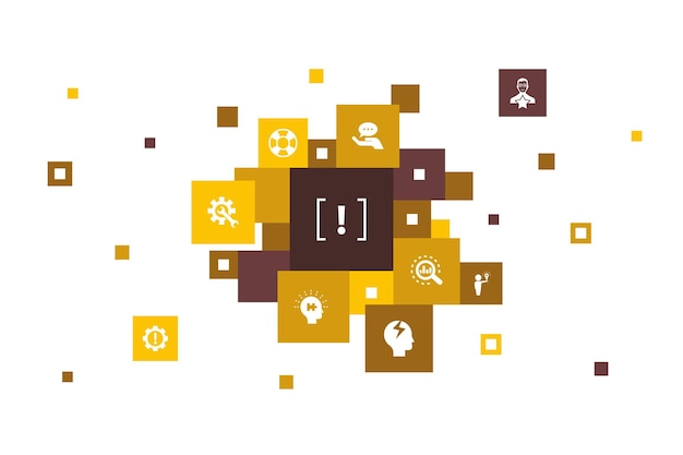 Présentation infographie de présentation en ligne