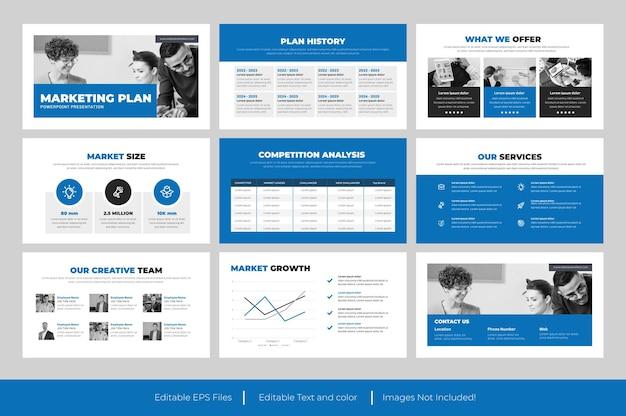 Présentation powerpoint du plan marketing
