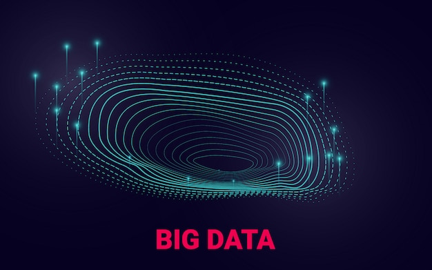 Présentation visuelle sur l'analyse de données volumineuses.