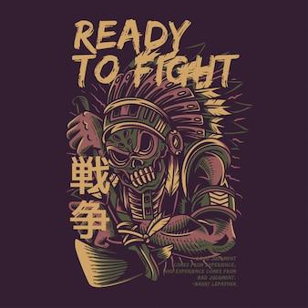 Prêt à combattre