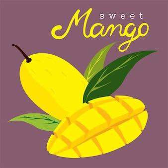 Prêt-à-servir mangue jaune douce