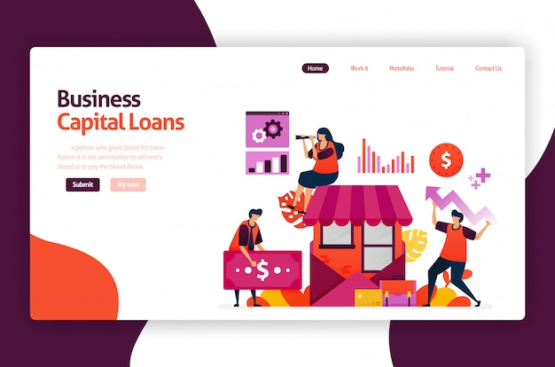 Prêts de capital-risque pour le développement et l'investissement des pme. crédit à faible taux d'intérêt pour les jeunes entrepreneurs et les jeunes entreprises.