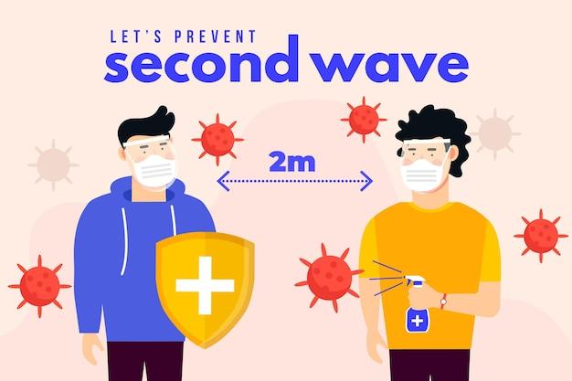 Prévenir la deuxième vague de coronavirus