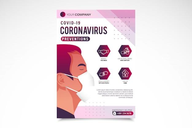 Préventions contre les coronavirus