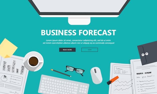 Prévisions d'affaires