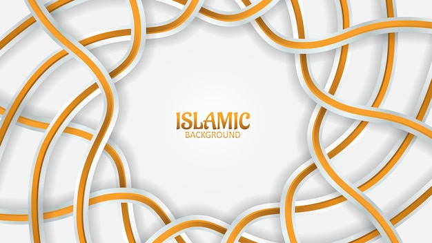 Prime de fond islamique 3d mozaic