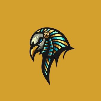 Prime de vecteur oiseau anubis