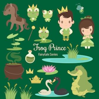 Prince de grenouille série conte de fées