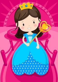 Princesse de caractère