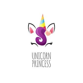 Princesse mignonne de licorne