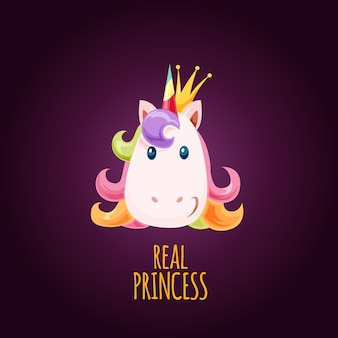 Princesse real licorne