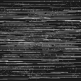 Problème de perte de signal tv, bruit de pixels d'écran ou effet d'erreur de données vidéo
