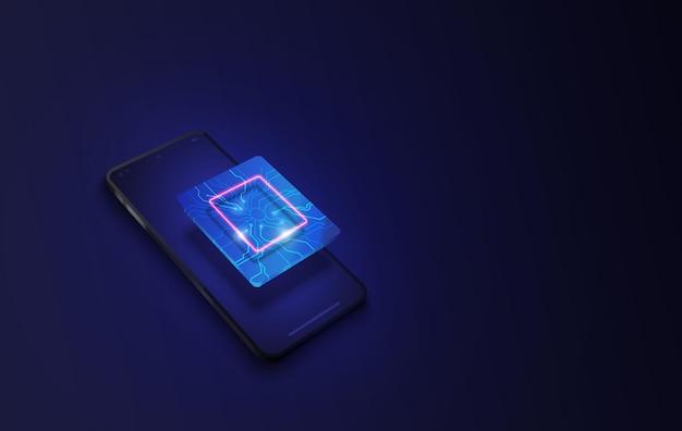 Processeur de puce technologique pour smartphone