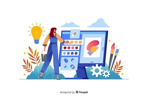 Processus de conception de pages de destination