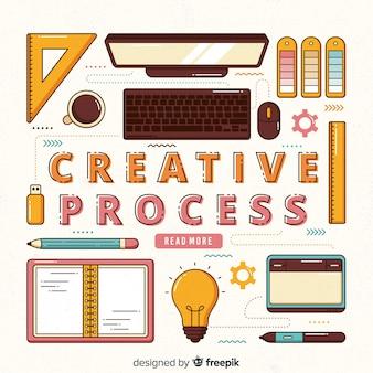 Processus de création graphique