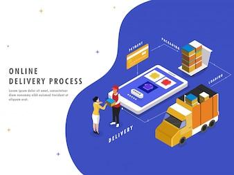 Processus de livraison en ligne