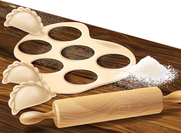 Processus de fabrication de boulettes, tradition asiatique et européenne