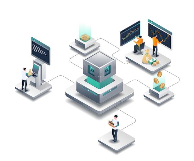 Processus d'investissement et de négociation de bitcoin