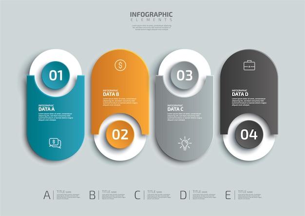 Processus Réaliste Infographie Différents Graphiques Diagrammes Schémas De Chronologie De L'organigramme De Flux De Travail Vecteur Premium