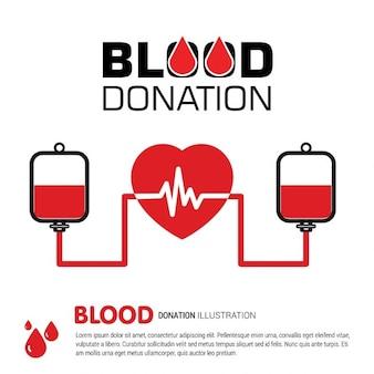 Processus De Transfusion Sanguine Vecteur gratuit