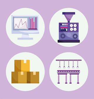 Production de l'industrie de l'automatisation