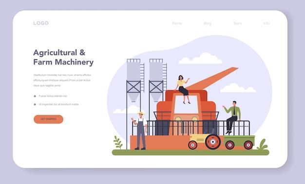 Production de machines agricoles