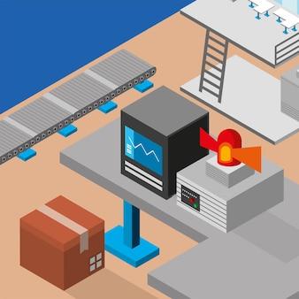 Production de processus de l'industrie