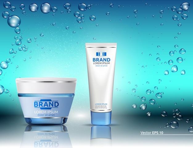 Produit d'emballage cosmétique d'hydratation de l'eau