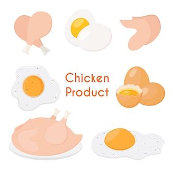 Produit de poulet
