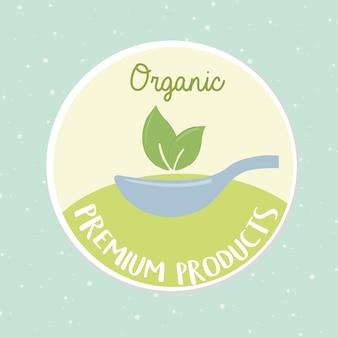 Produits alimentaires bio premium